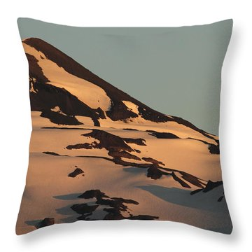 Evening Into Night Throw Pillow by Laddie Halupa