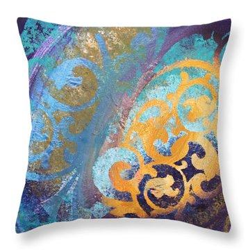 Evening Light Throw Pillow by Reina Cottier