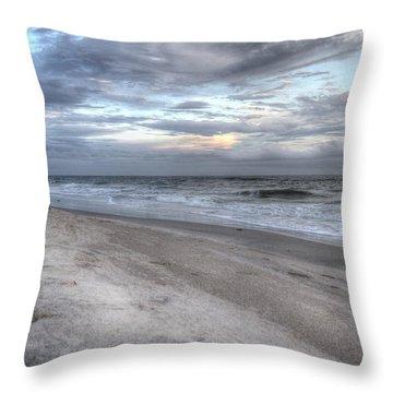 Evening Paradise Throw Pillow by Betsy Knapp