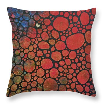 Every Cell In My Body Throw Pillow by Sheep McTavish