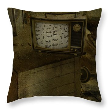 Every Channel Of Love Throw Pillow by Jerry Cordeiro