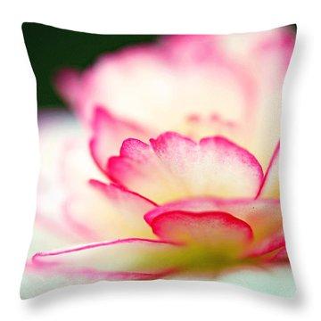 Every Moment... Throw Pillow by Melanie Moraga