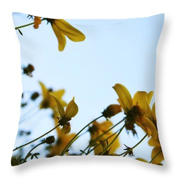 Every Sight And Every Sound Throw Pillow by Laurie Search