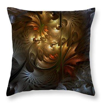 Evocation Throw Pillow by Casey Kotas