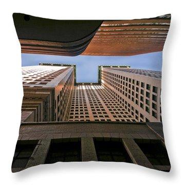 Exchange Canyon Throw Pillow