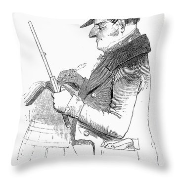 Exciseman, C1840 Throw Pillow by Granger