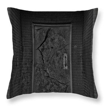 Exit Throw Pillow by Jerry Cordeiro