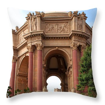 Exploratorium San Francisco Throw Pillow by Henrik Lehnerer