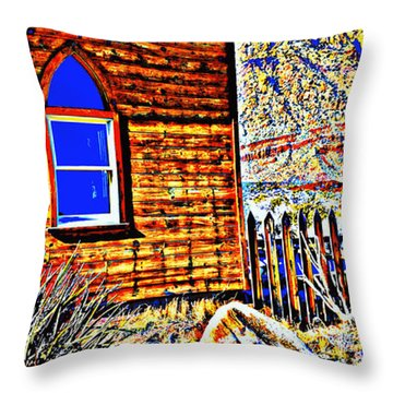 Eye Of The Soul Throw Pillow by Diane montana Jansson
