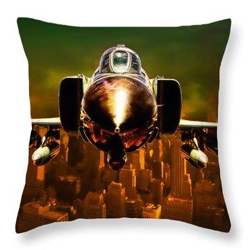 F-4 Throw Pillow