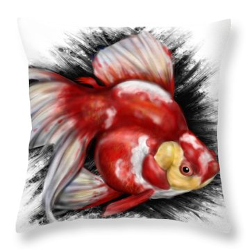 F Ck Nemo Throw Pillow by Pete Tapang