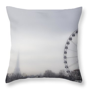 Throw Pillow featuring the photograph Fading Away by Victoria Harrington