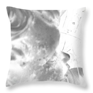 Throw Pillow featuring the photograph Fading Memories Of A Baby by Renee Trenholm