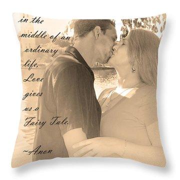 Fairy Tale Throw Pillow by Kelly Hazel