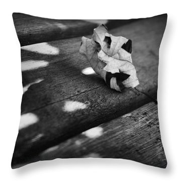 Fall Leaves Iv Throw Pillow