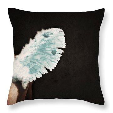 Fallen Throw Pillow by Lisa Knechtel