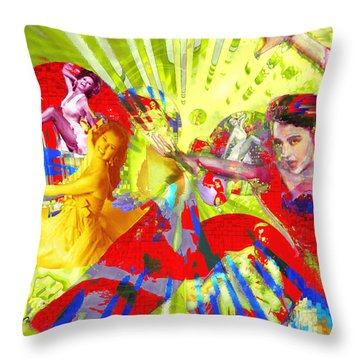 Fandango Throw Pillow by Seth Weaver