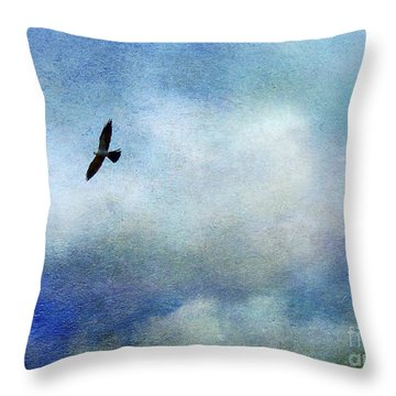 Far Above Throw Pillow by Judi Bagwell