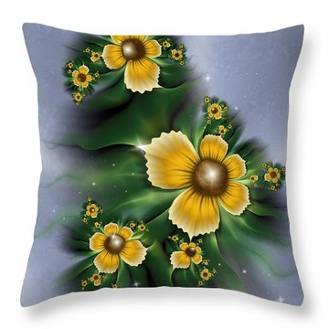 Farewell Summer Throw Pillow