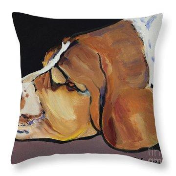 Farley Throw Pillow by Pat Saunders-White