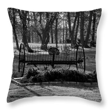 Farm Antique Throw Pillow