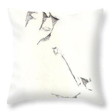 Fashion 1965 Three Throw Pillow