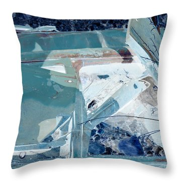 Fasten Your Seat Belt Throw Pillow by Diane montana Jansson