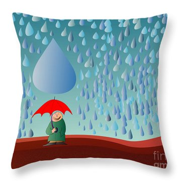 Fate Throw Pillow by Michal Boubin