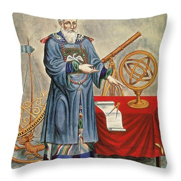 Father Ferdinand Verbiest, Jesuit Throw Pillow