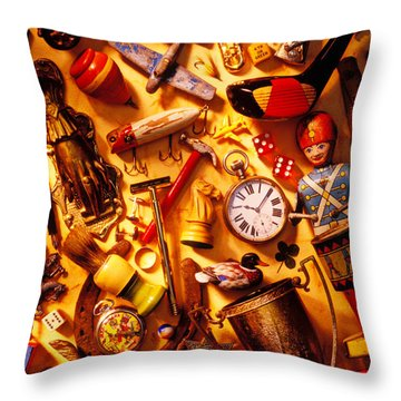 Father's Day Memories Throw Pillow by Garry Gay