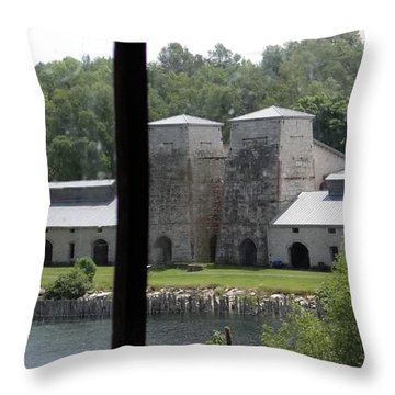 Fayette Smelter Throw Pillow