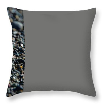 Throw Pillow featuring the photograph White Feather by Marilyn Wilson