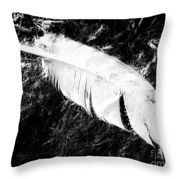 Featherweight Throw Pillow by Mimulux patricia no No
