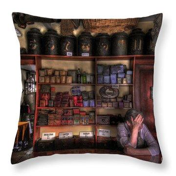 Fed Up Throw Pillow by Yhun Suarez