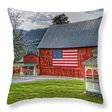 Feeling Patriotic Throw Pillow