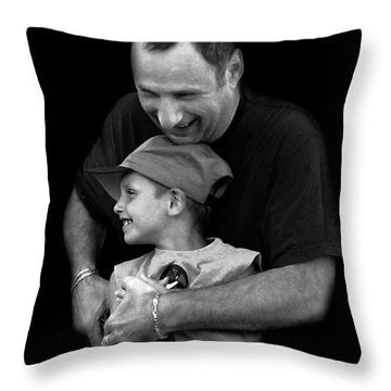 Feeling The Love Throw Pillow by Dale   Ford