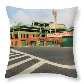 Fenway Park II Throw Pillow by Clarence Holmes