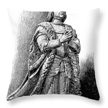 Ferdinand V Of Castile (1452-1516) Throw Pillow by Granger