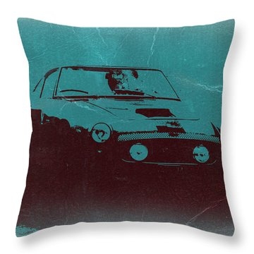 Ferrari 250 Gtb Throw Pillow by Naxart Studio