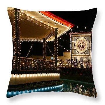 Festival In Azores Throw Pillow by Gaspar Avila