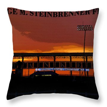 Field Of Dreams Throw Pillow by David Lee Thompson