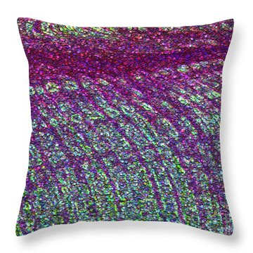 Fields Of Gmo Throw Pillow