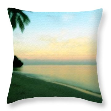 Fiji Calling Throw Pillow