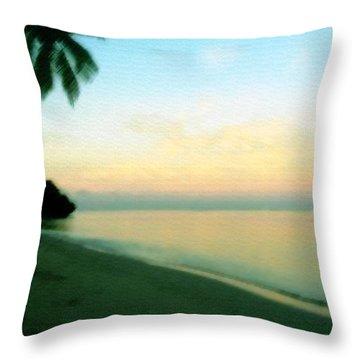 Fiji Calling Throw Pillow
