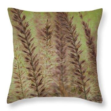 Filigree-iv Throw Pillow by Susanne Van Hulst