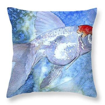Fillet Throw Pillow by J Vincent Scarpace