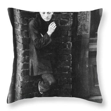 Film: Broken Blossoms, 1919 Throw Pillow by Granger