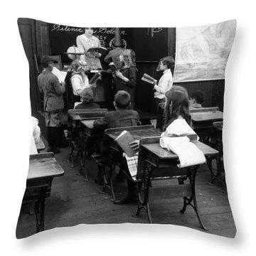 Film Still: Classroom Throw Pillow by Granger