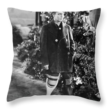 Film: The Sea Beast, 1926 Throw Pillow by Granger