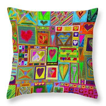 find U'r Love found    v15 Throw Pillow